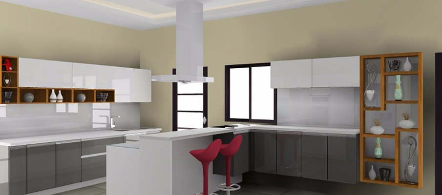 Modular kitchen in s g highway