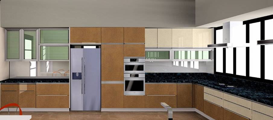 modular kitchen design in s g highway